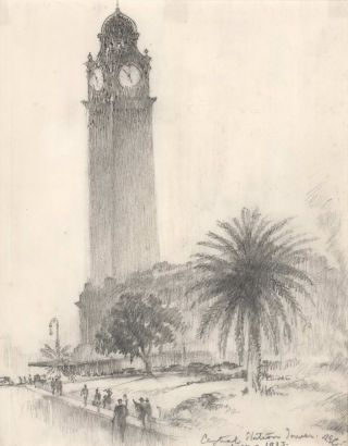 [Central Station, Sydney]. Robert Emerson Curtis, Australian.