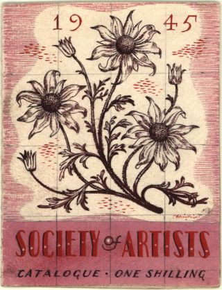 Original Artwork For Society Of Artists Catalogue. Adrian Feint, Australian