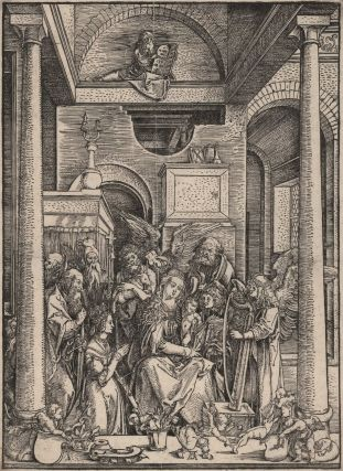 The Glorification Of The Virgin. Albrecht Dürer, German.