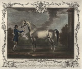 The Portraiture Of Crab [Arabian Horse] Late The Property Of The Right Hon. The Earl Of Portmore. After Thomas Spencer, British, /67.