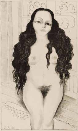 Nude With Long Hair (Dolores Olmedo Patiño). Diego Rivera, Mexican