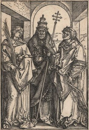 Saints Stephen, Sixtus And Lawrence. Albrecht Dürer, German.