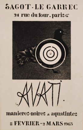 Avati [Exhibition]. Mario Avati, French