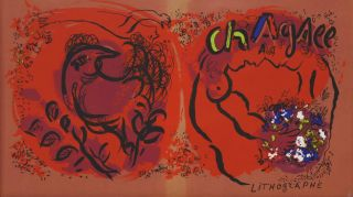 Chagall Lithographe. Marc Chagall, French