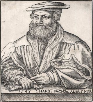 Hans Sachs Alter 51 Jar [51 Years Old], Lucas Cranach the Elder, c. German