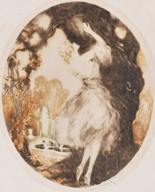 Fidelity. Louis Icart, French.