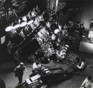 Live Audience In ABC Studios]. Max Dupain, Aust