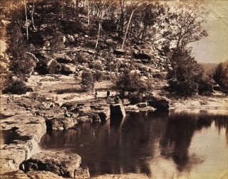 On The Nepean [NSW]. Charles Bayliss, Australian