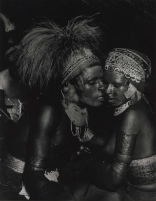 Natives, Kanana Ceremony, New Guinea. Laurence Le Guay, Aust