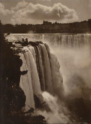 Horseshoe Falls [Canadian Side Of Niagara Falls]. George Barker, Canadian/Amer