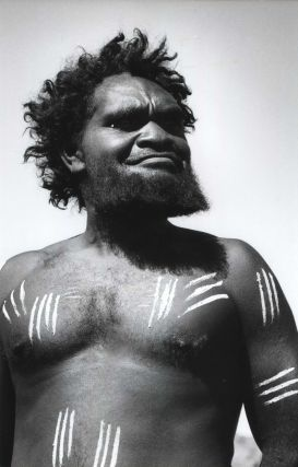 Aborigine Decorated For Corroboree, Ernabella, South Australia. David Moore, Aust