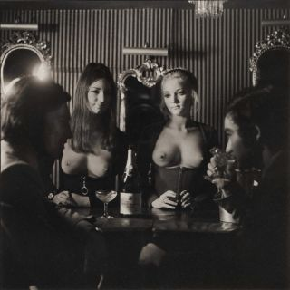 The Crazy Horse, The City's First Topless Bar [London]. Lewis Morley, Brit./Aust.