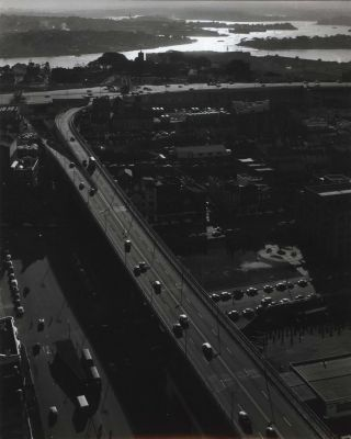 Cahill Expressway Looking Towards Bradfield Highway And Observatory Beyond]. Wolfgang Sievers,...