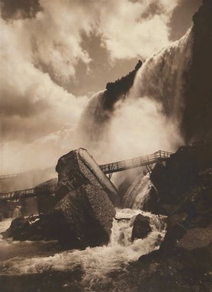 Niagara Falls [Cave Of The Winds]. George Barker, Canadian/Amer