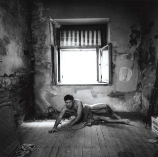 Jan Saudek, Prague. Peter Adams, b.1943 Australian