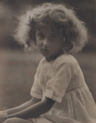 Young Girl]. Harold Cazneaux, Aust