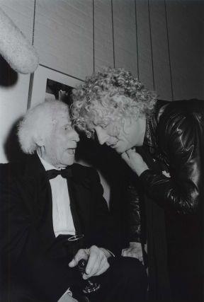 Lloyd Rees And Brett Whiteley At Gallery Opening. Neil Duncan, b.1951 Aust
