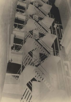 Fire Stairs At Bond Street, Sydney]. Max Dupain, Aust