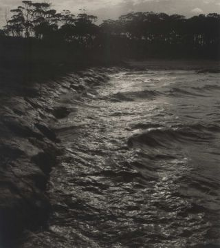 Bawley Point, High Tide [South Coast, NSW]. Max Dupain, Australian