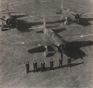 RAAF Pilots And Their Planes]. Max Dupain, Aust