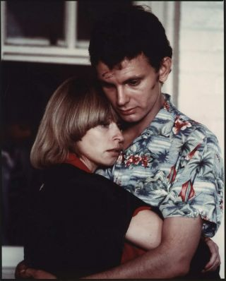 "Judy Morris And Richard Moir Embracing On The Set Of ""In Search Of Anna""]. Carol Jerrems, Aust"
