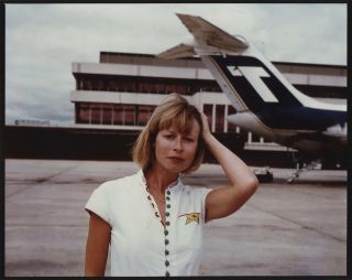 "Judy Morris At Airport On The Set Of ""In Search Of Anna""]. Carol Jerrems, Aust"