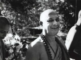 Satyananda And Amritananda, Mangrove Mountain. Carol Jerrems, Aust.
