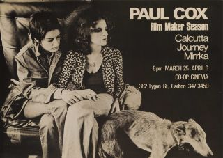 "Paul Cox, Film Maker Season [Carol Jerrems In ""The Journey""]. After Philip Quirk,..."
