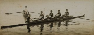 [Sydney Grammar School Rowing Teams On Parramatta River, NSW]