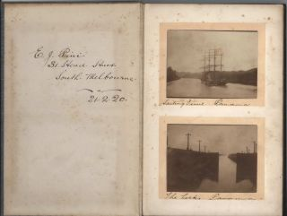 Photograph Album Including General Birdwood's Tour Of Melbourne