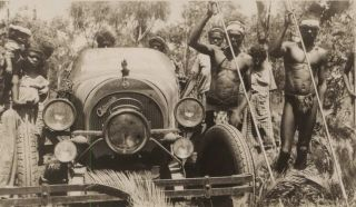 [Birtles Car Adventure From Darwin To Adelaide]. Francis Birtles, Aust.