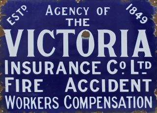 Agency Of The Victoria Insurance Co. Ltd. Fire Accident, Workers Compensation