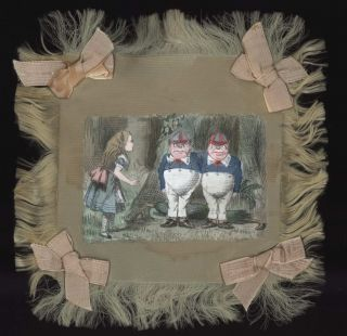 "Doilies From ""Alice In Wonderland""].  After  John Tenniel, Brit"