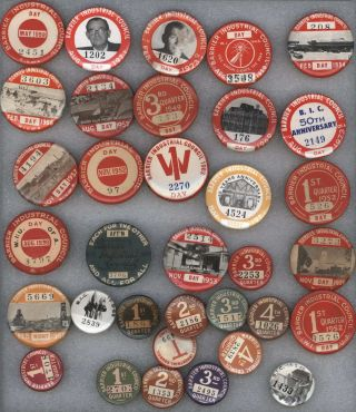 Barrier Industrial Council Badges Collection