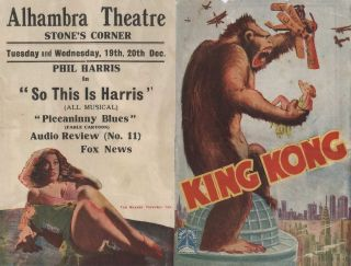 King Kong [At The Alhambra Theatre, Stone's Corner, Brisbane