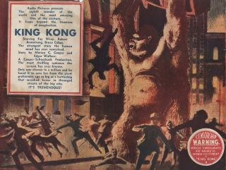 King Kong [At The Alhambra Theatre, Stone's Corner, Brisbane]