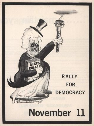 Rally For Democracy, November 11. Maintain Your Rage [Whitlam Dismissal