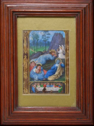 "The Last Supper And The Agony In The Garden From ""The Book Of Hours"""