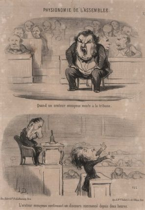 [Satirical Political Illustrations For French Newspapers]