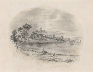 Government House From The Botanical Gardens, Sydney].  After  F. C. Terry, Aust