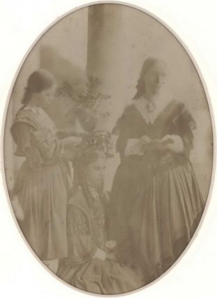 Photograph  and  Poem From Eliza Henrietta Dumaresq, Youngest Daughter Of William John...
