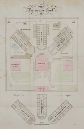 Plan Of Parramatta Gaol
