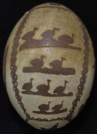 Australian Carved Emu Egg Collection