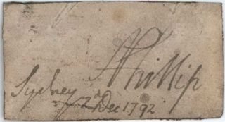 Captain Arthur Phillip, First Governor Of The Colony [NSW]