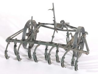 Agricultural Ploughs, Miniature Shop Display Models
