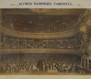 Alfred Dampier's Farewell [Lyceum Theatre]. Kerry, Co, active Aust