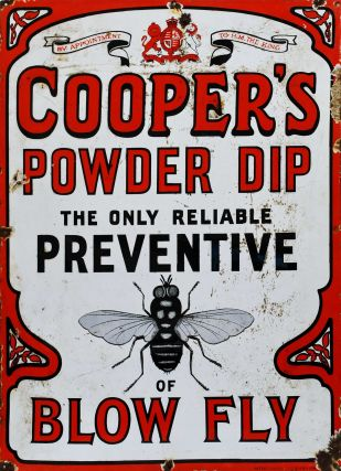 Cooper's Powder Dip. The Only Reliable Preventive Of Blow Fly