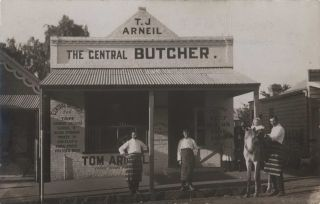 T.J. Arniel, The Central Butcher [Wellington, NSW
