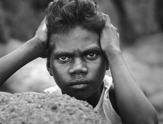 Tiwi Girl, Bathurst Island, NT. Heide Smith, b.1937 German/Australian