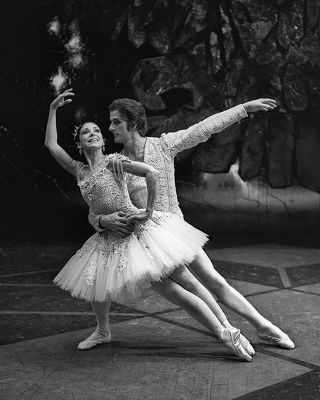 Dame Margot Fonteyn And Garth Welsh. Heide Smith, b.1937 German/Australian